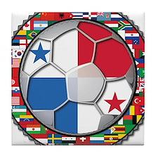 Panama Flag World Cup No Labe Tile Coaster