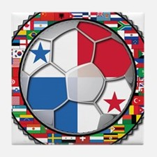 Panama Flag World Cup No Labe Tile Coaster