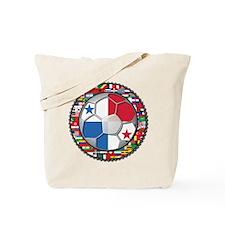 Panama Flag World Cup No Labe Tote Bag