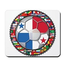 Panama Flag World Cup No Labe Mousepad