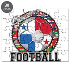 Panama Flag World Cup Footbal Puzzle