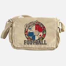 Panama Flag World Cup Footbal Messenger Bag