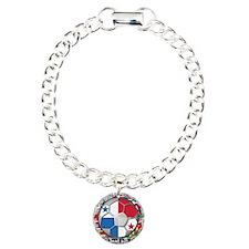 Panama Flag World Cup Footbal Bracelet