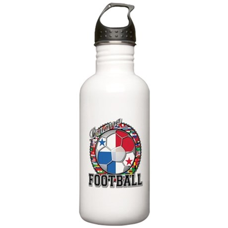 Panama Flag World Cup Footbal Stainless Water Bott