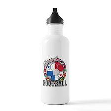 Panama Flag World Cup Footbal Water Bottle