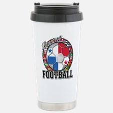 Panama Flag World Cup Footbal Stainless Steel Trav