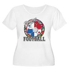 Panama Flag World Cup Footbal T-Shirt