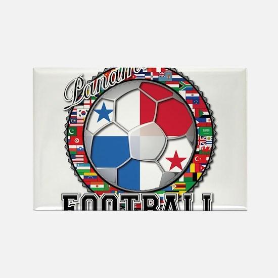 Panama Flag World Cup Footbal Rectangle Magnet