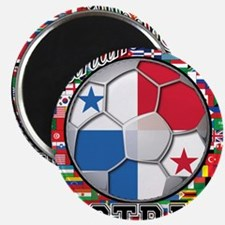 Panama Flag World Cup Footbal Magnet