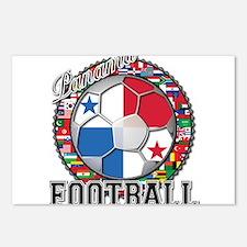 Panama Flag World Cup Footbal Postcards (Package o