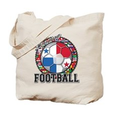 Panama Flag World Cup Footbal Tote Bag