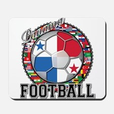 Panama Flag World Cup Footbal Mousepad