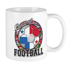 Panama Flag World Cup Footbal Mug