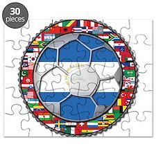 Nicaragua Flag World Cup No L Puzzle