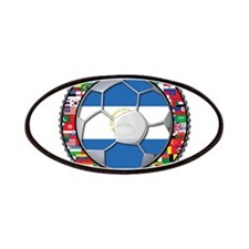 Nicaragua Flag World Cup No L Patches