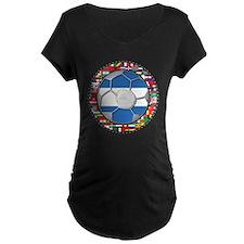 Nicaragua Flag World Cup No L T-Shirt