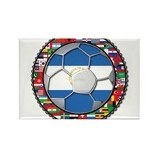Nicaragua Flag World Cup No L Rectangle Magnet