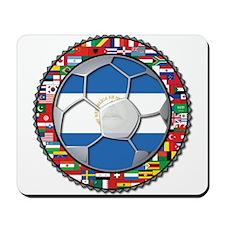 Nicaragua Flag World Cup No L Mousepad