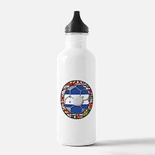 Honduras Flag World Cup Footb Water Bottle