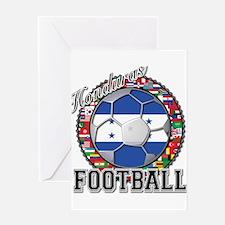 Honduras Flag World Cup Footb Greeting Card