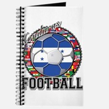 Honduras Flag World Cup Footb Journal
