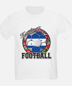 Honduras Flag World Cup Footb T-Shirt