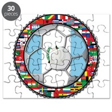 Guatemala Flag World Cup No Puzzle