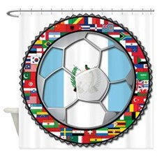 Guatemala Flag World Cup No Shower Curtain