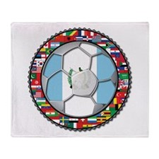 Guatemala Flag World Cup No Throw Blanket