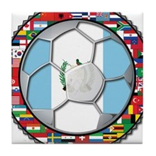 Guatemala Flag World Cup No Tile Coaster