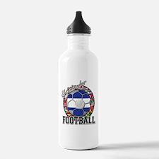 El Salvador Flag World Cup Fo Water Bottle
