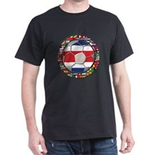 Costa Rica Flag World Cup No T-Shirt