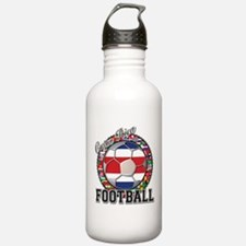 Costa Rica Flag World Cup Foo Water Bottle