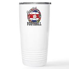 Costa Rica Flag World Cup Foo Travel Mug