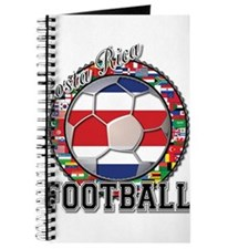Costa Rica Flag World Cup Foo Journal