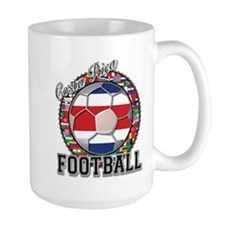 Costa Rica Flag World Cup Foo Mug