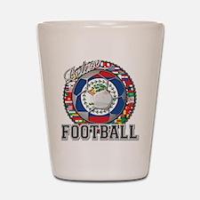 Belize Flag World Cup Footbal Shot Glass