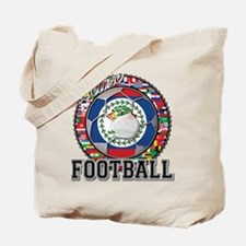 Belize Flag World Cup Footbal Tote Bag