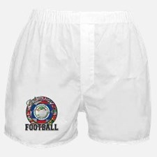 Belize Flag World Cup Footbal Boxer Shorts