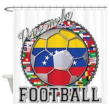 Venezuela Flag World Cup Foot Shower Curtain
