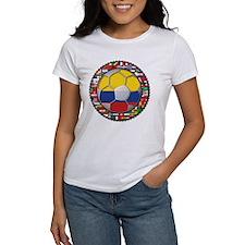 Colombia Flag World Cup No La Tee