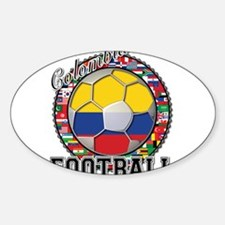 Colombia Flag World Cup Footb Decal