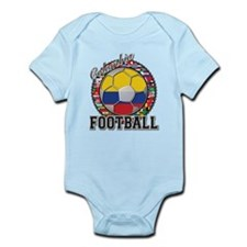 Colombia Flag World Cup Footb Infant Bodysuit