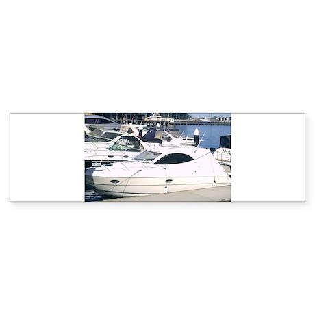 Boating at Docklands Marina M Sticker (Bumper 10 p