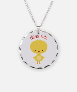 Chicks Rule Necklace