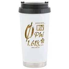 Phi Collage Travel Mug