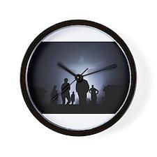 Jesus Light Wall Clock