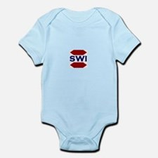 SWI Abbreviated Logo Infant Bodysuit
