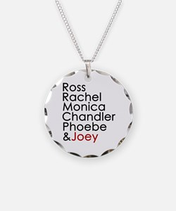 'Joey is my Favorite' Necklace Circle Charm