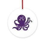 EDS Octopus Ornament (Round)